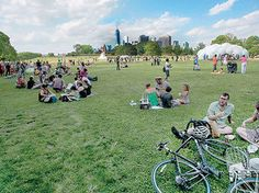 Picnic on Governors Island
