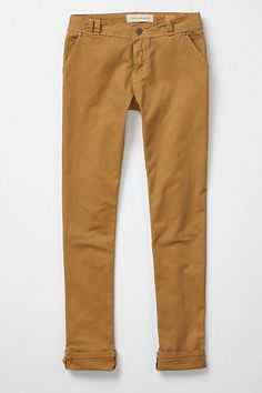 Pilcro Straight Ankle Chinos - StyleSays