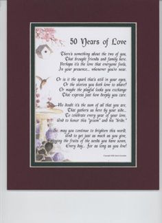 ... Anniversary Gifts For Parents, Anniversary Gifts and Gift For Parents