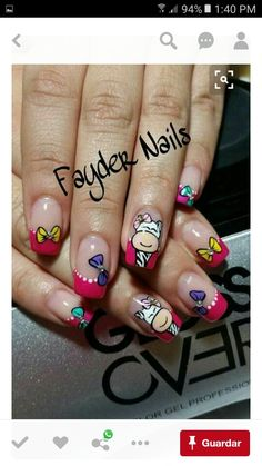 Creative Nail Designs, Pretty Nail Designs, Toe Nail Designs, Creative Nails, Cute Nail Art, Beautiful Nail Art, Bright Nails, French Tip Nails, Nail Decorations