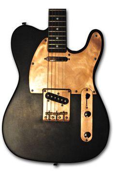 Newcaster Guitars Co TL Series I Flat Black Coppertop