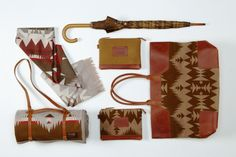 Pendleton: Portland Collection Accessories Fall 2013.
