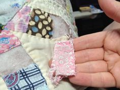 Tutorial for Repairing a Quilt -- I have a quilt or two that could use this