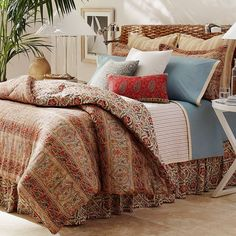 Chaps Turner Creek Duvet Cover Set, Multicolor