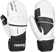 Reusch World Champ Mittens: White