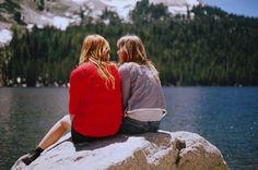 beautiful, friends, girl, summer, vintage
