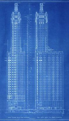 #Chrysler Building Blueprint