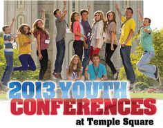 Youth Conference at Temple Square idea- cost includes activities, food, etc. but seems a little pricey?