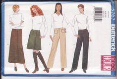 WOMEN'S SEWING PATTERN Butterick 5767 Very Easy by retrochick66, $6.50