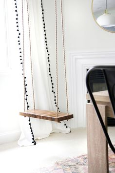 Marvelous Diy Home : Illustration Description How To Make An Indoor Swing! | Chris  Loves Julia