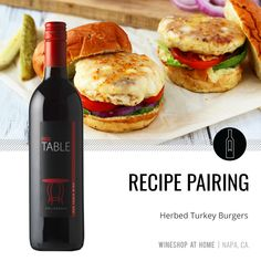 This red table wine is amazing with tacos, pasta, and turkey burgers! Find more recipe pairings in the lifestyle section of my website. http://wsah.life/z3trg