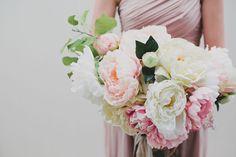 DIY silk Afloral bouquet