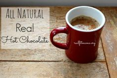 ALL NATURAL REAL HOT CHOCOLATE
