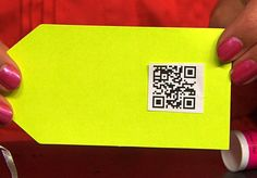 Wrap it up with a QR code gift tag/personalized video message
