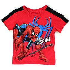 Nannette Little Boys' Spider-Man T-Shirt Carters Baby Boys, Toddler Boys, Toddler Boy Fashion, Kids Fashion, Country Sweatshirts, Cute Toddlers, Boys Shirts, Baby Boy Outfits, Short Sleeve Tee