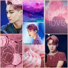 #pink #Kai #Exo