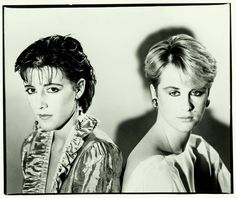 Joanne Catherall and Susan Ann Sulley of the Human League