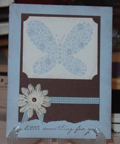 Prima Butterfly by Glitter_Girl - Cards and Paper Crafts at Splitcoaststampers