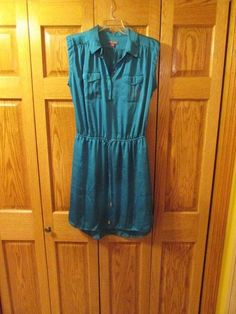 VINCE CAMUTO WOMEN'S TURQUOISE DRESS, SIZE 6 #VINCECAMUTO.  eBay item number:131732260066