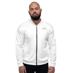 Unisex jacket. Can be personalized in your own style or print. Perfect material from trusted & professional supplier. Add a little bit of a zing to your wardrobe. Printed Bomber Jacket, Bomber Jacket Men, Adidas Jacket, Harrington Jacket, Momotaro Jeans, Cheer Shirts, Unisex, Classic Man, Facon