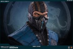 Mortal Kombat Sub-Zero Life-Size Bust by Pop Culture Shock | Sideshow…