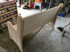DIY Church Pew Plans - 5