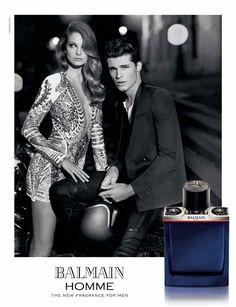Eniko Mihalik stars in Balmain Homme fragrance advertisement