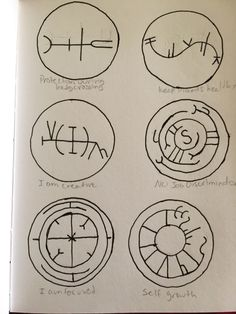 ☀️Knowledge Is Power - the-darkest-of-lights:   These are some sigils I...