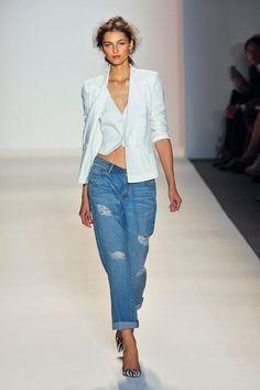 Rachel Zoe, Spring 2014 - Rachel Zoe, Spring New York Fashion Week - Best Runway Looks London Fashion Weeks, Ny Fashion Week, New York Fashion, Look Fashion, Runway Fashion, Fashion Show, Fashion 2014, Denim Fashion, Fashion Outfits