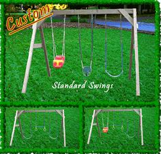 Covered yard swing wooden swing sets canada wood swing for Swing set supports