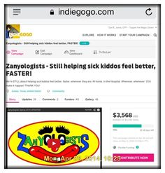 71%!!!  You guys/gals ARE FANTASTIC! Thank you on behalf of the kiddos we help feel better, FASTER!!  http://evpo.st/1nxNBAG  Thanks!