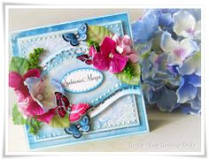 flowers spring card