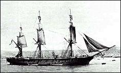 """Gloriosa Corbeta """"Esmeralda"""",Esta corbeta fue comprada a Inglaterra y nombrada como """"Esmeralda"""", en homenaje a la captura de la """"Esmeralda"""" por Thomas Lord Cochrane, en Callao, en 1820. Submarines, Tall Ships, Chile, Royal Navy, Old Photos, Sailing Ships, American History, Boats, Historian"""