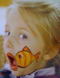 Bildergebnis für easy fish face paint