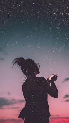 Une nuit avec toi ... Sous les étoiles ... Champagne