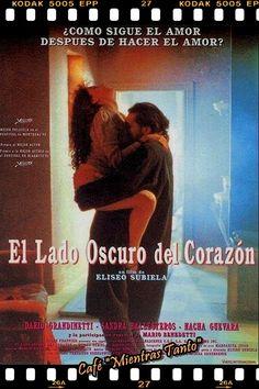 """Cine Sala """"Charles Chaplin"""" - El lado oscuro del corazón """"1"""" (1992) - Ingresa a la sala pulsando el Link: http://cine-sala-a01-jcp.blogspot.com/2011/11/el-lado-oscuro-del-corazon-1.html"""