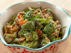 Get Roasted Broccoli Salad Recipe from Food Network