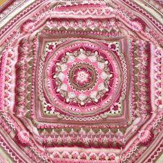 Detail of my #Sophie's Universe blanket #crochet, made by Jitske, 2015