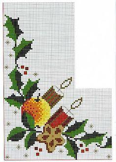 Gráficos de Ponto Cruz e Croché: Novembro 2009