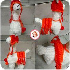 Paso a paso cómo se teje la jirafa a crochet amigurumi, info de Madres Hiperactivas en clases de crochet. Crochet Stars, Cute Crochet, Crochet For Kids, Knit Crochet, Amigurumi Patterns, Knitting Patterns, Crochet Patterns, Llama Alpaca, Crochet Animals