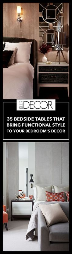 35 Bedside Tables For Your Bedroom's Decor - Best Nightstand Inspiration