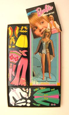 Barbie Colorforms- had these- I absolutely loved colorforms. My favorite toy of all time!