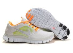 watch 8824a 93462 2014 New Nike Free 5.0 V3 Womens Running Shoes White Green Orange Nike Free  Run 2