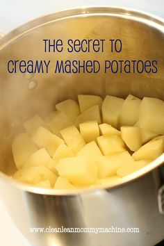 Tip for Tuesday: Perfect Mashed Potatoes