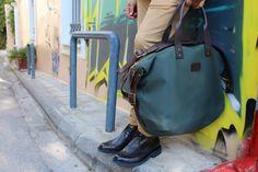 Bag  and pants Scotch & Soda, shoes Kalogirou.