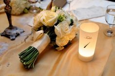 """DIY Lumies Kit  for your Wedding Table Numbers - Unpack these 8.5"""" luminaries and assemble by peeling the backing off the adhesive. A number of other options are available."""