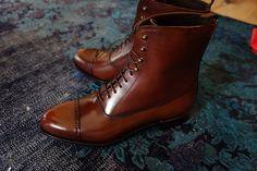Carmina Shell Boots