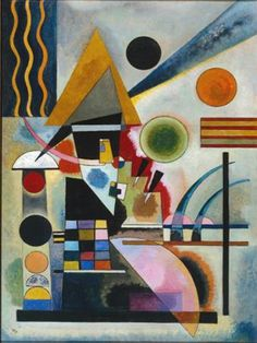 Swinging by Wassily Kandinsky