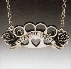 Treat Me Right Pendant by Rock Rebel
