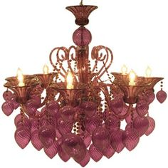 I'm completely obsessed with chandeliers